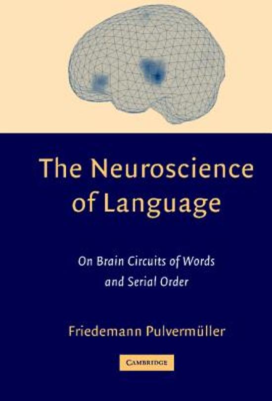 The Neuroscience of Language
