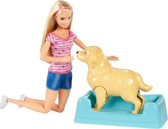 Barbie Pasgeboren puppy's Speelset - Barbiepop