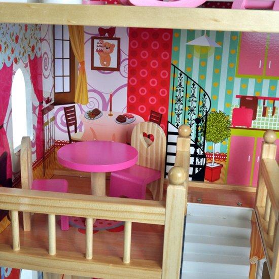 Bandits & Angels House of Angels poppenhuis met 17 delige meubelset