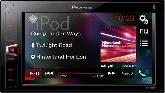 Pioneer MVH-AV290BT Autoradio Multimedia Beeldscherm, Bluetooth en USB - 2-din