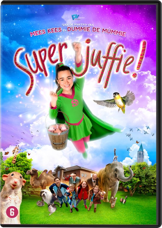 DVD cover van Superjuffie