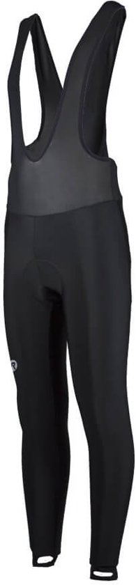 Rogelli Basic Lang - Fietsbroek - Heren - Bretels - 2XL - Zwart