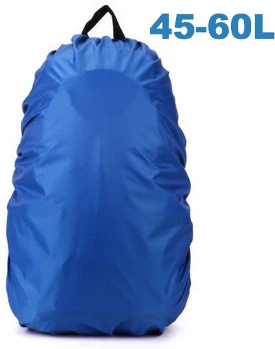 c34bf7740d6 ForDig - Flightbag Regenhoes Waterdicht voor Backpack Rugzak - 45-60 Liter  Regenhoes – Blauw