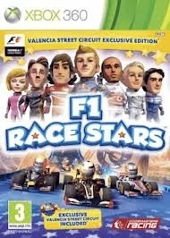 F1 Race Stars Valencia Street Circuit Edition