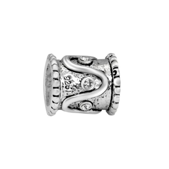 Quiges Bedel Bead - 925 Zilver - Ornament Kraal Charm - Z183