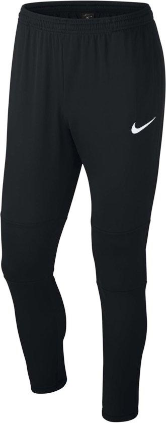 Nike M Nk Dry Park18 Pant Kpz Trainingsbroek Heren - Black/Black/White