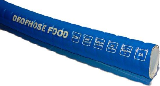 Voedselslang Zuig/pers Flexibel Drophose Food 63,5mm X 76mm