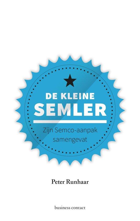 Boek cover Kleine boekjes - grote inzichten - De kleine Semler van Peter Runhaar (Onbekend)