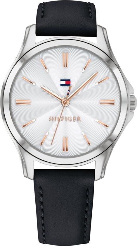 360ecb3d7c1a4b Tommy Hilfiger TH1781953 Horloge - Leer - Zwart - Ø 34 mm