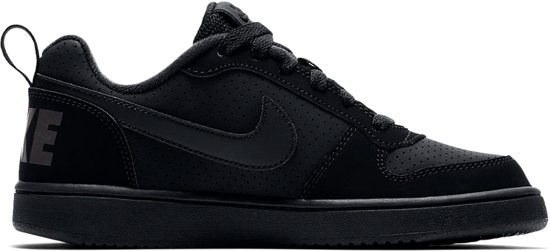 Low Nike black Bg black Court Sneakers Kinderen Borough Black arxz7Eaw
