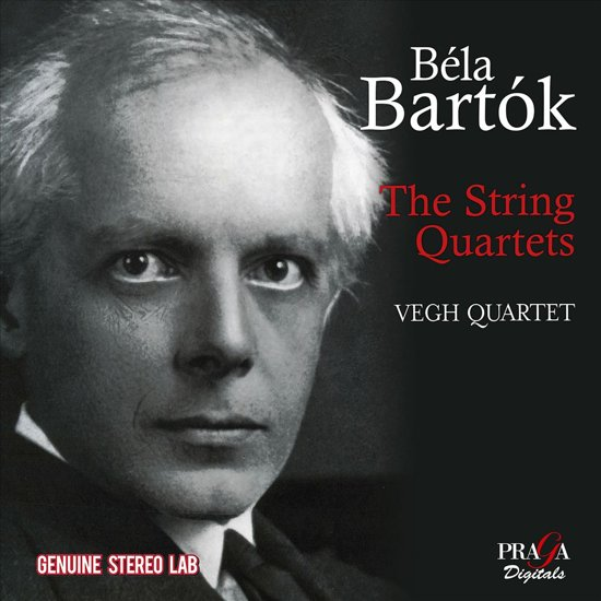 Béla Bartók: The String Quartets (1954 Stereo)