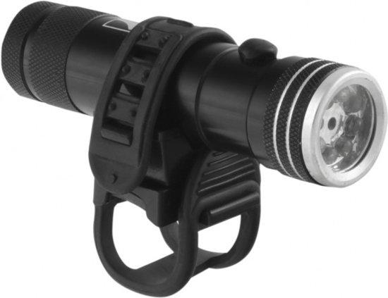 M-Wave Apollon Laser 8.2 - Koplamp - LED - Batterij - Zwart