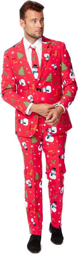 OppoSuits Christmaster - Kostuum - Maat 50