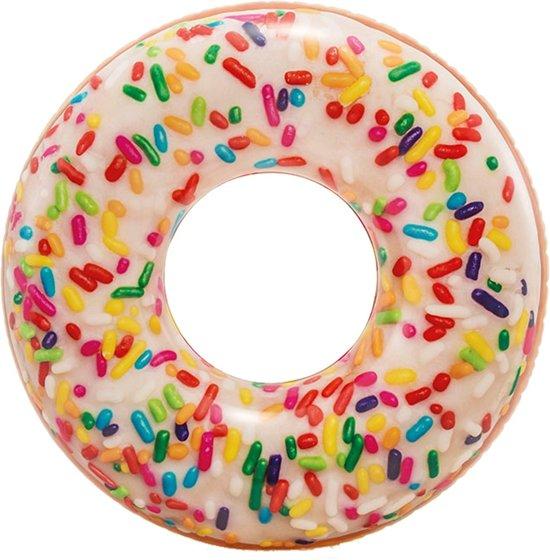Zwemband opblaasbaar Intex. donut sprinkle: 114 cm