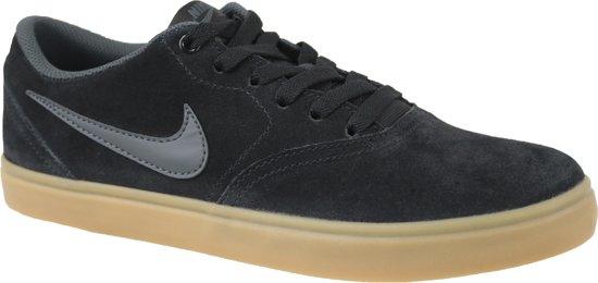 3d3ffdc7676 Nike SB Check Solarsoft Canvas 843895-003, Mannen, Zwart, Sneakers maat: