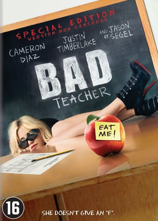 DVD cover van Bad Teacher