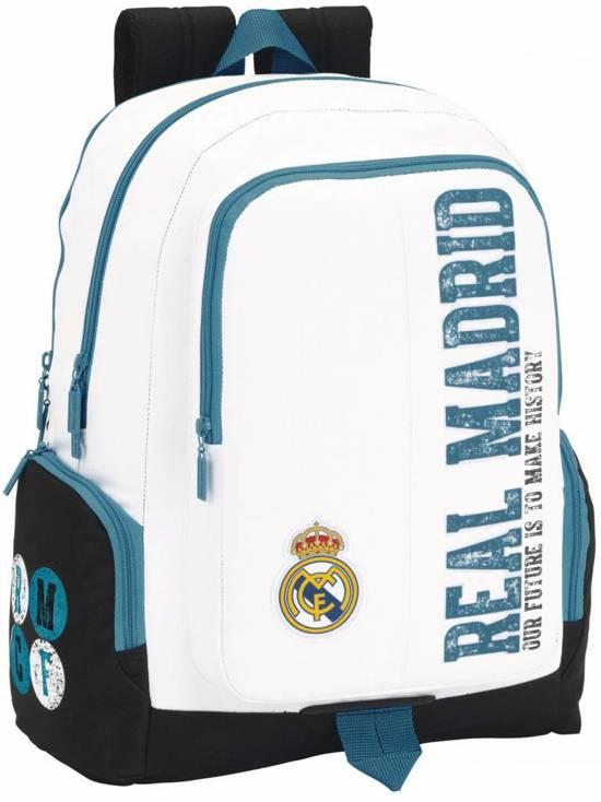 Real Madrid History - Laptop Rugzak - 42 cm - Wit
