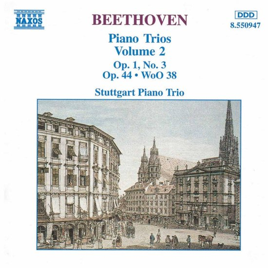 Beethoven: Piano Trios Vol 2 / Stuttgart Piano Trio