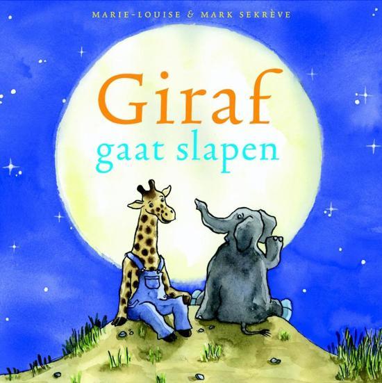 Giraf 1 Giraf gaat slapen