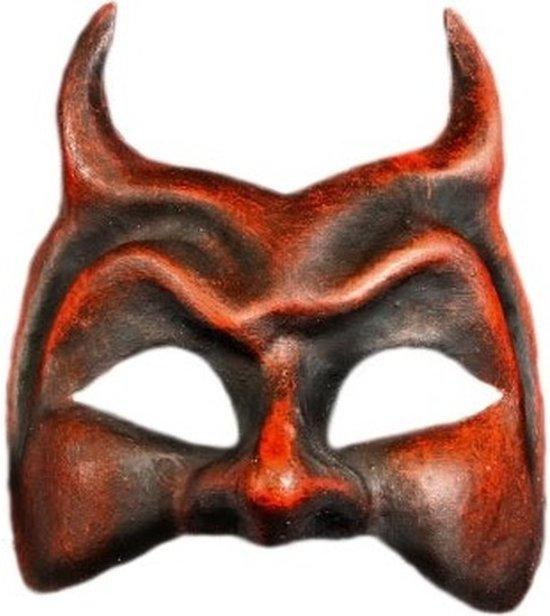 Venetiaanse rode duivel masker
