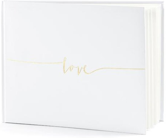 Gastenboek Love Goud Valentinaa