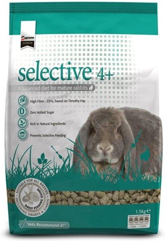 Supreme Science Selective Volwassen - Konijnenvoer - 1.5 kg