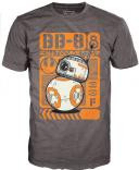 STAR WARS EP VII - T-Shirt POP #56 BB-8 Rolling x1