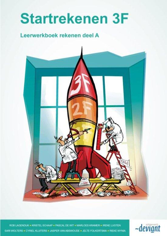 Boek cover Startrekenen 3F - Leerwerkboek deel A + B van Rob Lagendijk (Paperback)