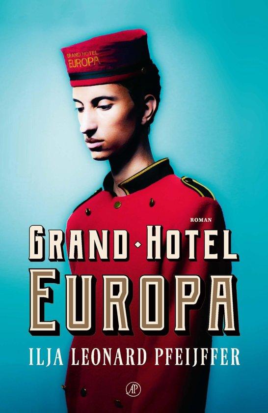 Boekomslag voor Grand Hotel Europa