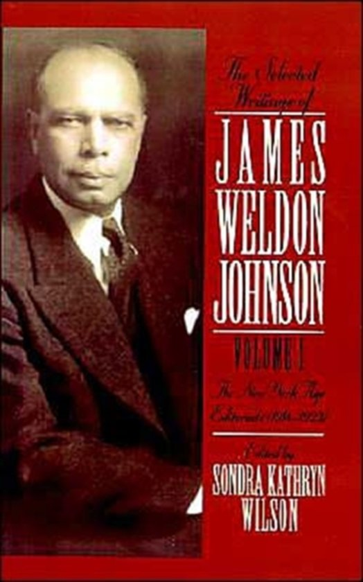 the life and works of james weldon johnson James weldon johnson how much of james weldon johnson's work have you seen (writer: lift every voice and sing - as james weldon) 1936 suzy.