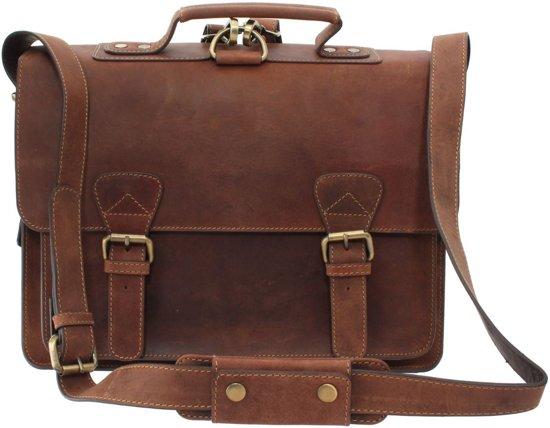 Visconti Carlsson Hunter Leather Aktetas / Rugzak (16106T)