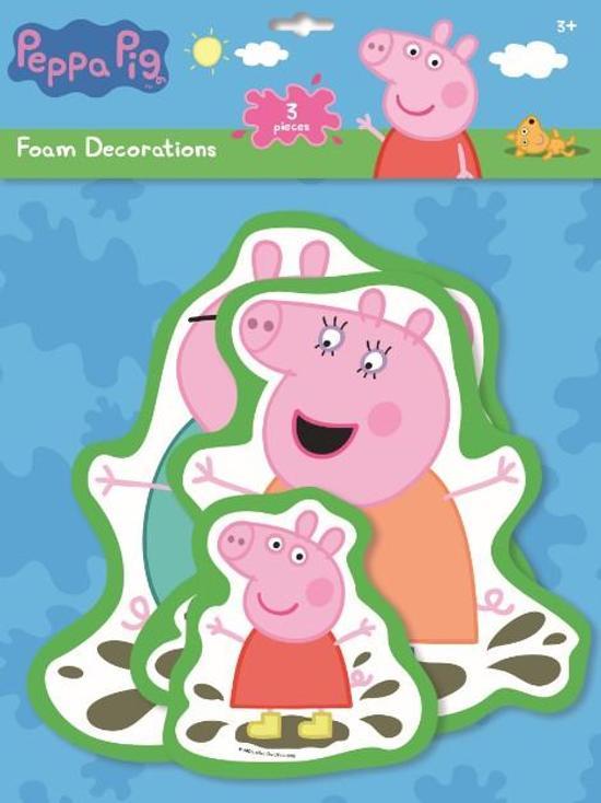 Foam Stickers Babykamer.Bol Com Peppa Pig Foam Stickers Xxl