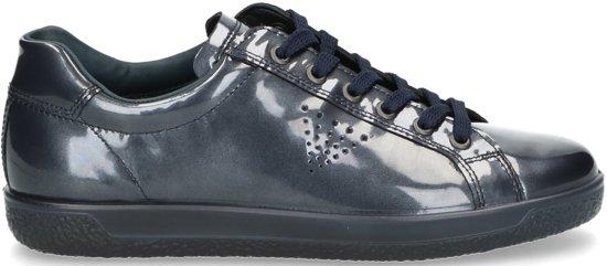Ecco Soft 1 dames sneaker Blauw Maat 36