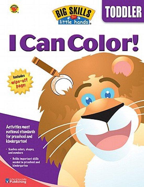 bol.com | I Can Color | 9780769659688 | Boeken