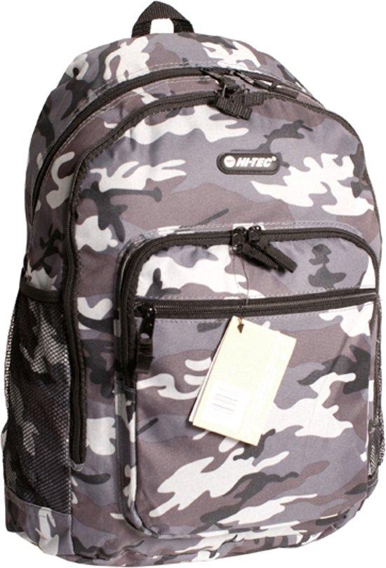 9fed42b940b bol.com   Hi-Tec Camouflage Grijs Rugzak Rugtas School Werk Tas Ruim ...
