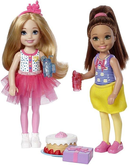 Barbie Club Chelsea Tienerpoppen Taart 14 Cm 6-delig