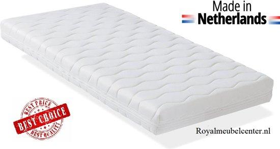 Kindermatrassen 60x120x10 cm baby matras met Anti-allergische wasbare hoes. Royalmeubelcenter.nl ®