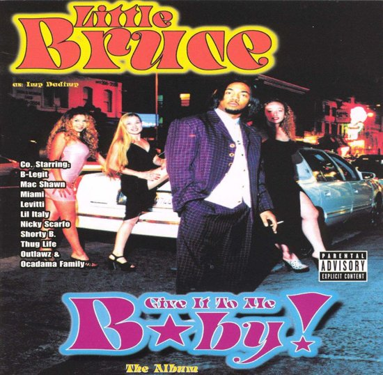 CD cover van Give It To Me Baby van Young Smitty