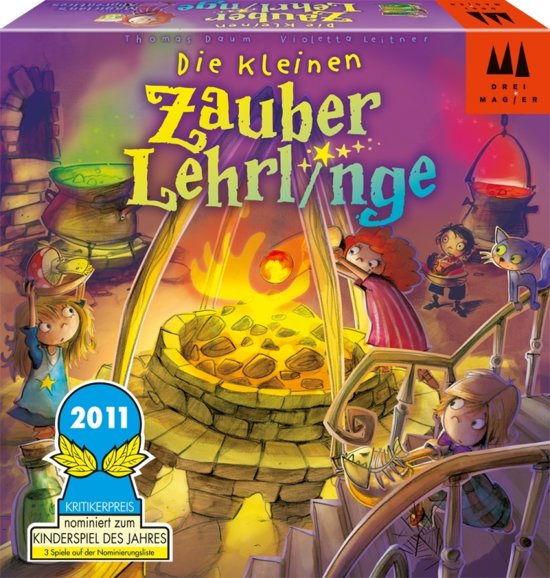 Afbeelding van het spel De kleine tovenaarsleerlingen - Indoor Actiespel