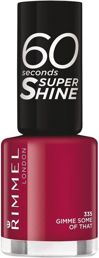 Rimmel London 60 Seconds Supershine Nagellak - 335 Gimme Some Of That