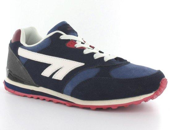 Salut-tec Marathon - Chaussures De Sport - Hommes - Taille 45 - Bleu Marine / Bleu / Rouge Ws9HNLYOsD