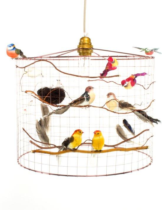 bol.com | Hanglamp met vogeltjes-Landelijk-Woonkamer-Slaapkamer-Hal ...
