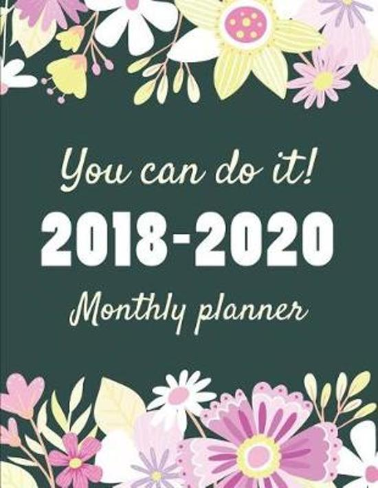 Bolcom You Can Do It 2018 2020 Monthly Planner Useful Books