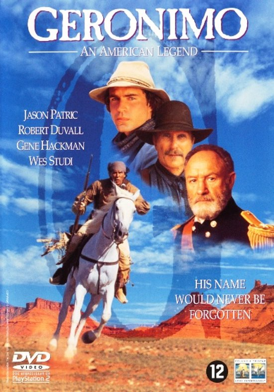 Cover van de film 'Geronimo'