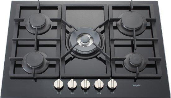 Onwijs bol.com | Pelgrim GK395ONYA - Inbouw Gaskookplaat OX-78