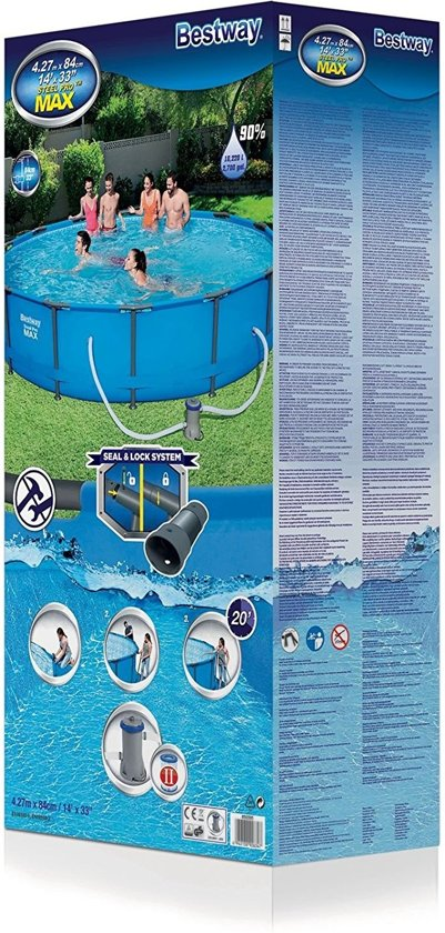BW Steel Pro MAX Pool Power Set 427x84