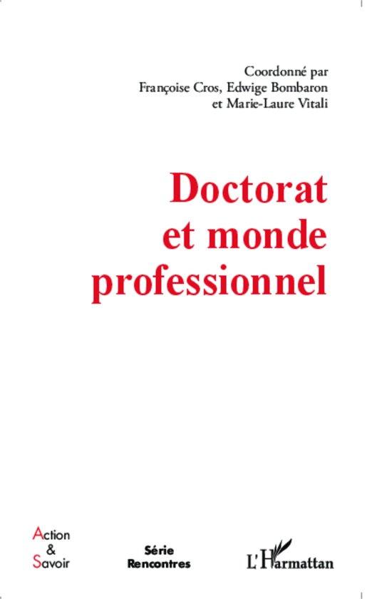 Doctorat et monde professionnel