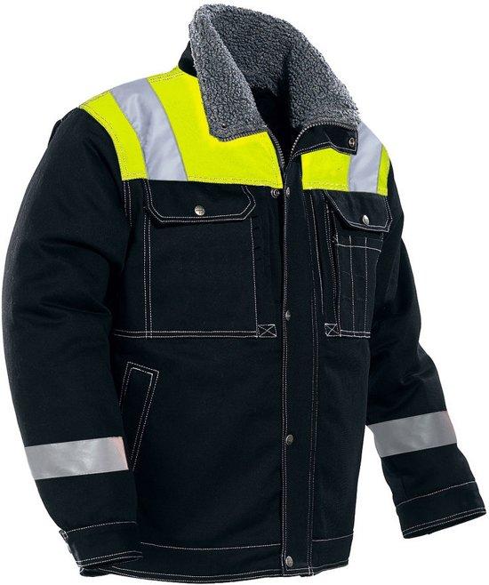 1179 Winter Jacket Black/Yellow l