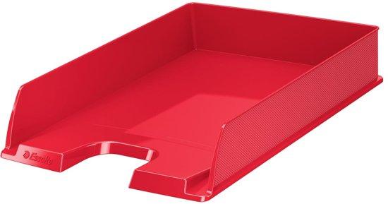30x Esselte Brievenbakje Vivida rood