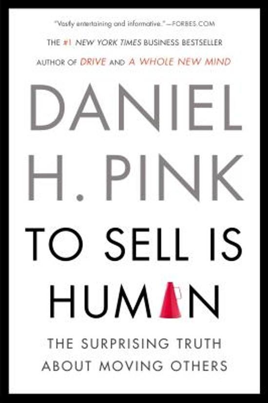 Boek cover To Sell Is Human van Daniel H. Pink (Paperback)